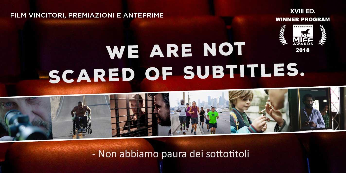 TUTTI I FILM VINCITORI 2018
